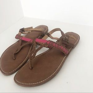 Same Edelman for AE brown sandals size 7